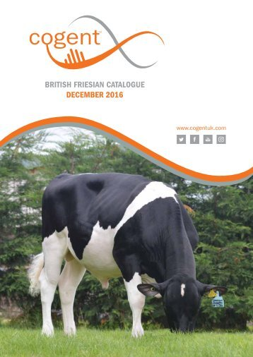 BRITISH FRIESIAN CATALOGUE DECEMBER 2016
