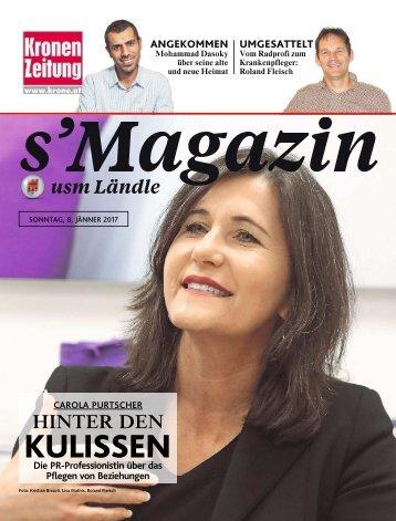 s'Magazin usm Ländle, 8. Jänner 2017