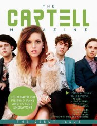 The Cartell Magazine Debut Issue