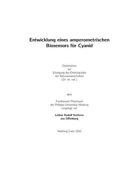 dissertation lothar ketterer