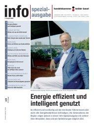 Energie effizient und intelligent genutzt - Handelskammer beider Basel