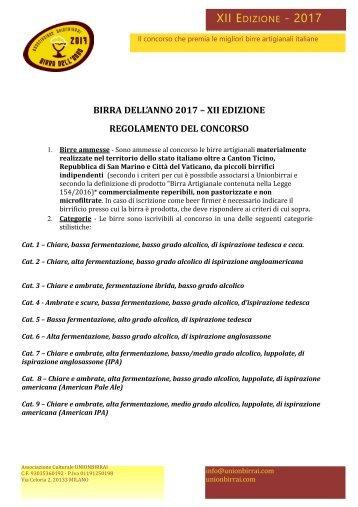 XII EDIZIONE - 2017