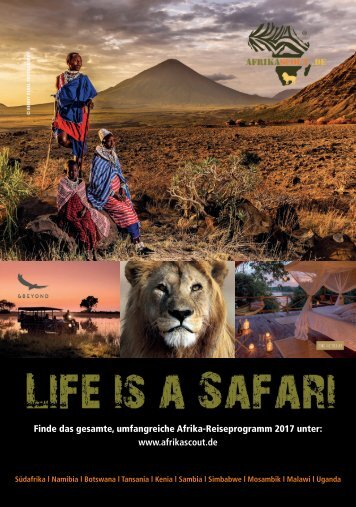 Afrikascout Katalog 2017