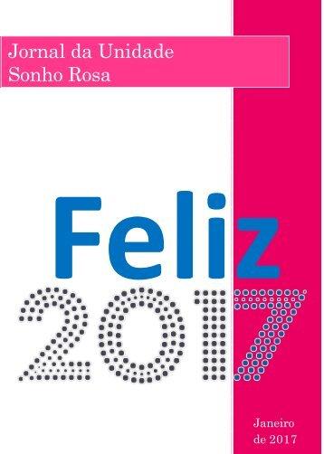Jornal Sonho Rosa. Edição: janeiro, 2016