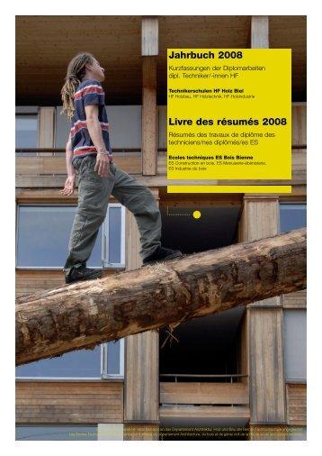 Techniker HF Holzbau - Hochschule für Architektur, Holz und Bau ...