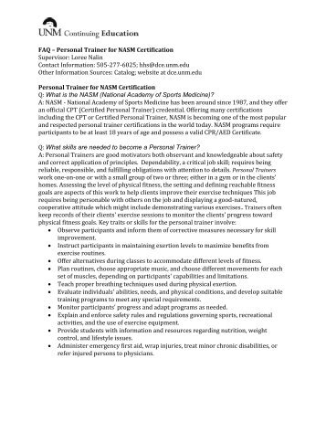 Ifa Trainer Certification Test Answer Form International