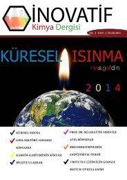 İnovatif Kimya Dergisi Sayı 6