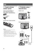 Sony KDL-26U2530 - KDL-26U2530 Istruzioni per l'uso Sloveno - Page 4