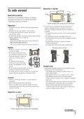 Sony KDL-26U2530 - KDL-26U2530 Istruzioni per l'uso Sloveno - Page 7