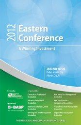 Eastern Conference - National Pest Management Association