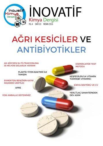 İnovatif Kimya Dergisi Sayı 33