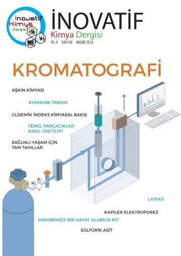 İnovatif Kimya Dergisi Sayı 40