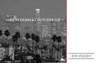as of Fall 2008 - Gibson, Dunn & Crutcher LLP