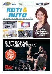 Pääkaupunkiseudun Koti & Auto 01-2017, Itä-pohjoinen Painos
