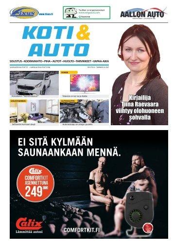Pääkaupunkiseudun Koti & Auto 01-2017, Itä-etelä Painos