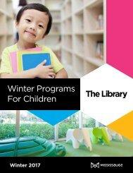 Winter Programs For Children