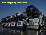 Car Shipping Edmonton