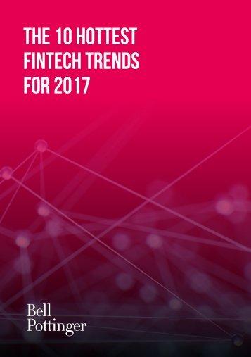 FinTech Trends for 2017