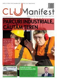 ClujManifest 2016 - Editie Tiparita - An 2 - Nr.46 - 9 Noiembrie  - 15 Noiembrie 2016
