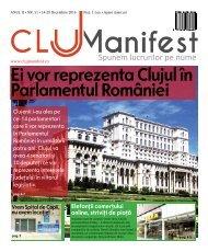ClujManifest 2016 - Editie Tiparita - An 2 - Nr.51 - 14 Decembrie - 20 Decembrie 2016
