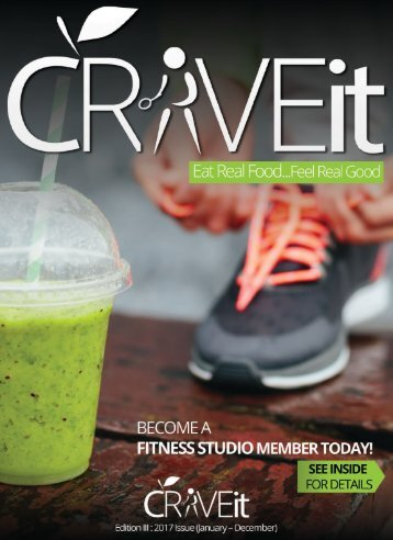 Crave It Foods 2017 Catalog
