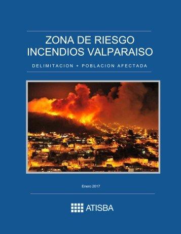 ZONA DE RIESGO INCENDIOS VALPARAISO