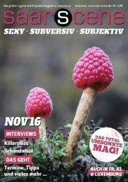 saar-scene November 11/16