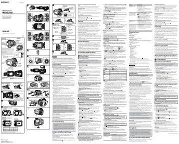 Sony MPK-WG - MPK-WG Istruzioni per l'uso