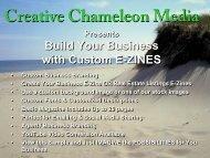 Creative Chameleon Media Marketing Flip Book