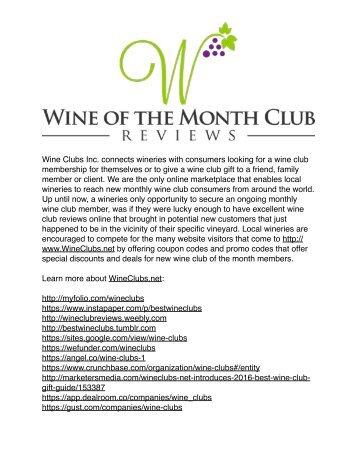 Wine Club Reviews