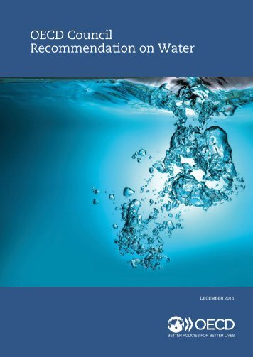 OECD Council Recommendation on Water