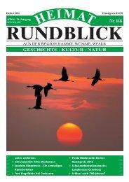 Heimat-Rundblick 118 - Herbst 2016