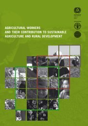 Agricultural Workers and Their Contribution to Sustainable Agriculture