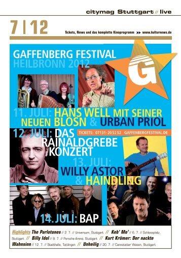 Juli 2012 - Kulturnews