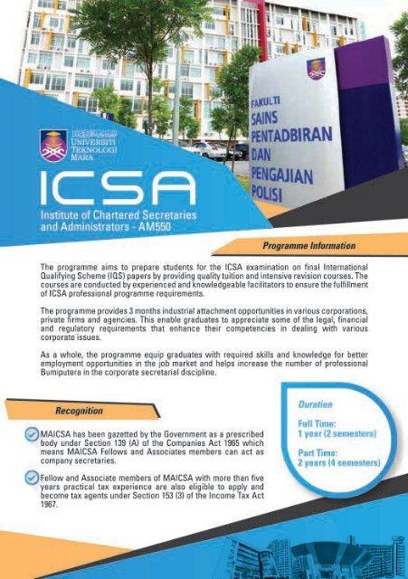 ICSA Page 1