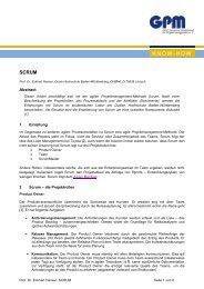 SCRUM (pdf) - GPM InfoCenter