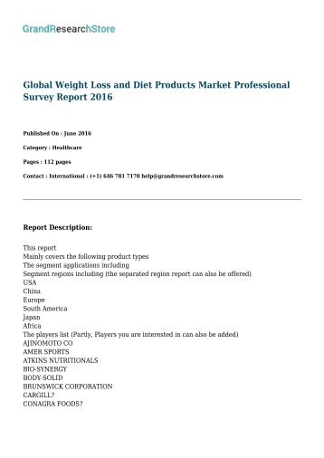 global-weight-loss-and-diet-products--grandresearchstore