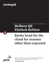 Banks head for the cloud for reasons other than expected