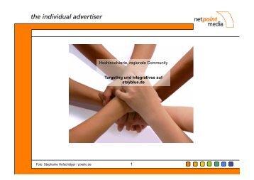 stayblue.de – Targeting Special - Netpoint Media