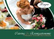 Catering & Eventgastronomie  - Private Veranstaltungen