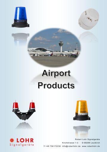 Lohr Signalgeräte Airport Products_2017_English