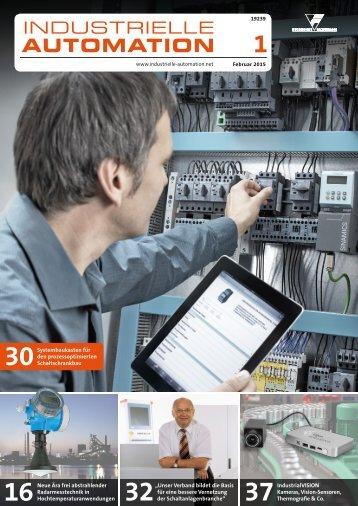 Industrielle Automation 1/2015