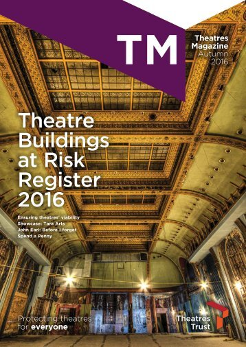 Theatre Buildings at Risk Register 2016