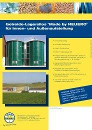 Getreide-Lagersilos