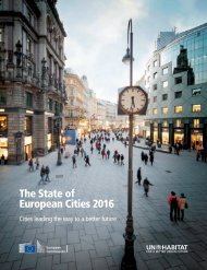 The State of European Cities 2016