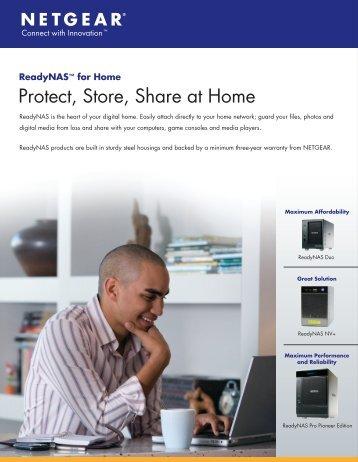 ReadyNAS™ for Home - Netgear