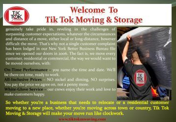 Moving company in White Plains, NY| TikTok Moving