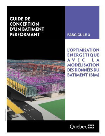 Guide de conception d'un bâtiment performant