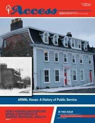 ARNNL House A History of Public Service