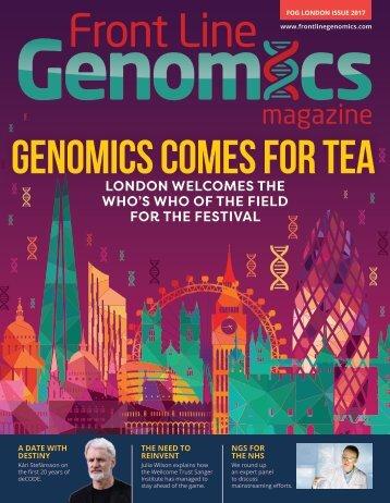 GENOMICS COMES FOR TEA